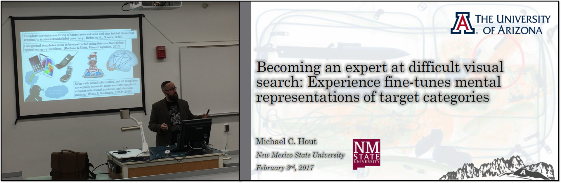 michael c. hout – assistant professor of psychology, new mexico, Presentation templates